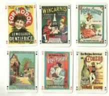 Collectible Playing cards. Le Vieux Pain Vieux Pain ( old bread )advertising posters